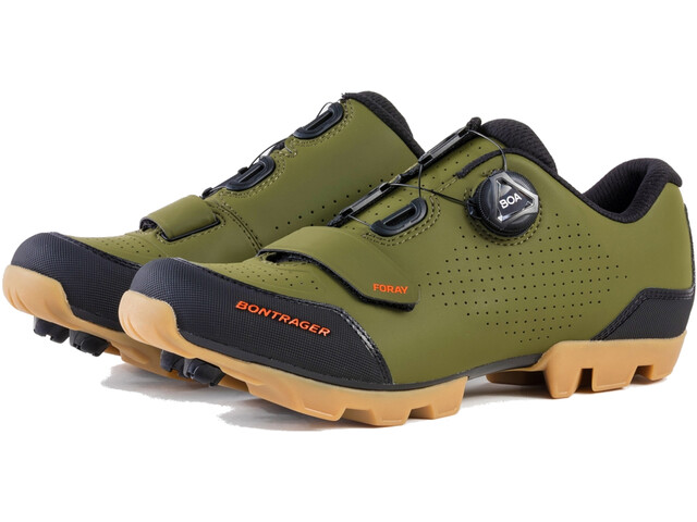 Bontrager Foray Mountain Shoes Men olive grey